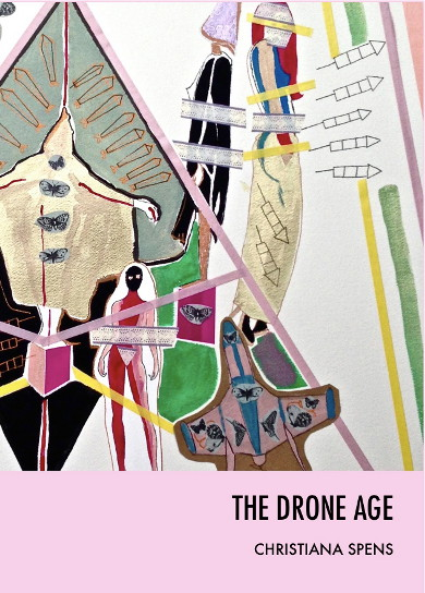 The cover of 'The Drone Age' by Christiana Spens.