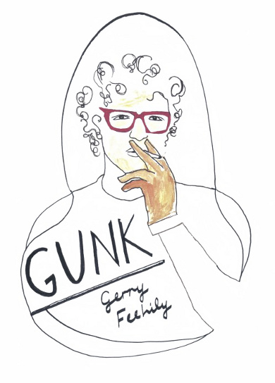 The cover of 'Gunk' by Gerry Feehily.