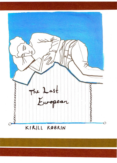 The cover of 'The Last European' by Kirill Kobrin.